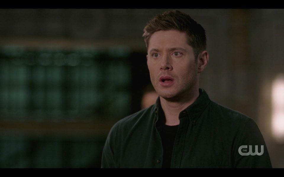 Jensen Ackles Dean reacts to Lisa Berry death in SPN 1512