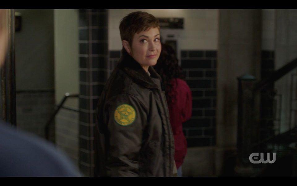 Kim Rhodes Jody final scene in Supernatural 1512