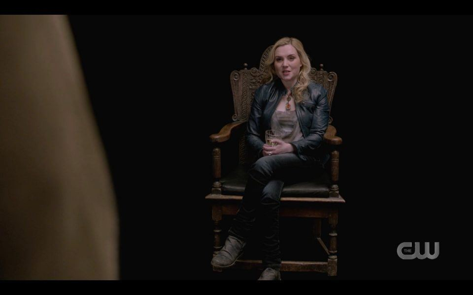 Rachel Miner as Death The Empty SPN