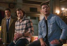 Supernatural 1512 Galaxy Brain winchester brothers sitting on castiel mttg