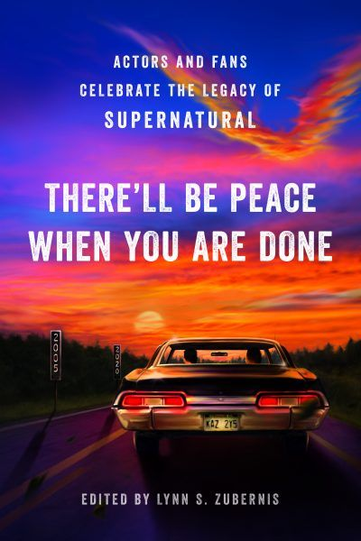 Supernatural Therell Be Peace When You Are Done Book Cover Ackles Zuberniss