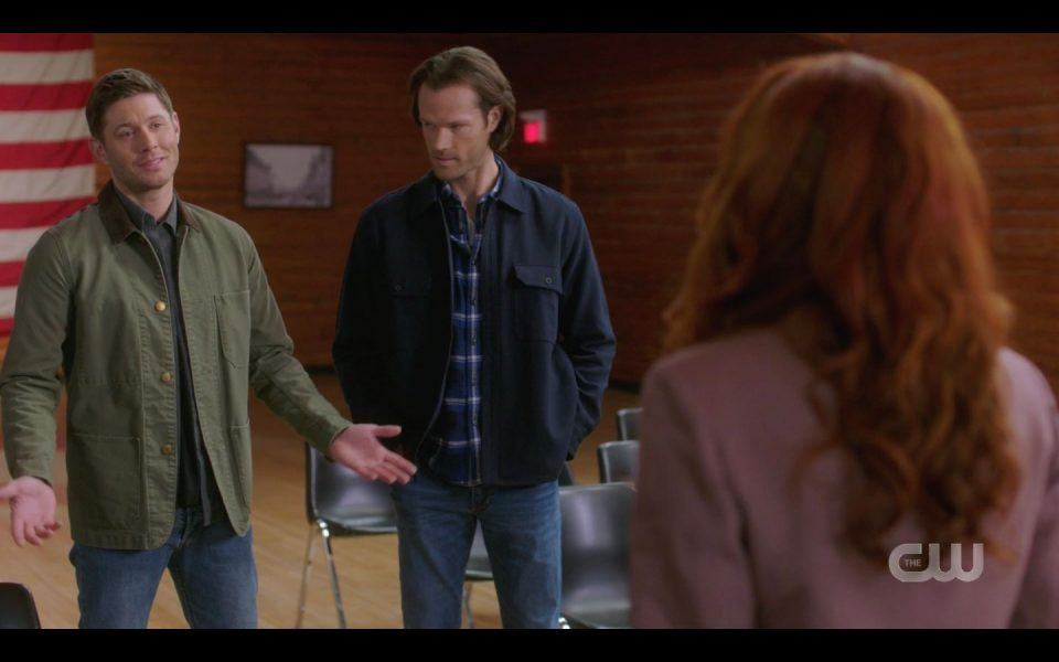 Winchester brothers try to get Sister Jo to go against God SPN
