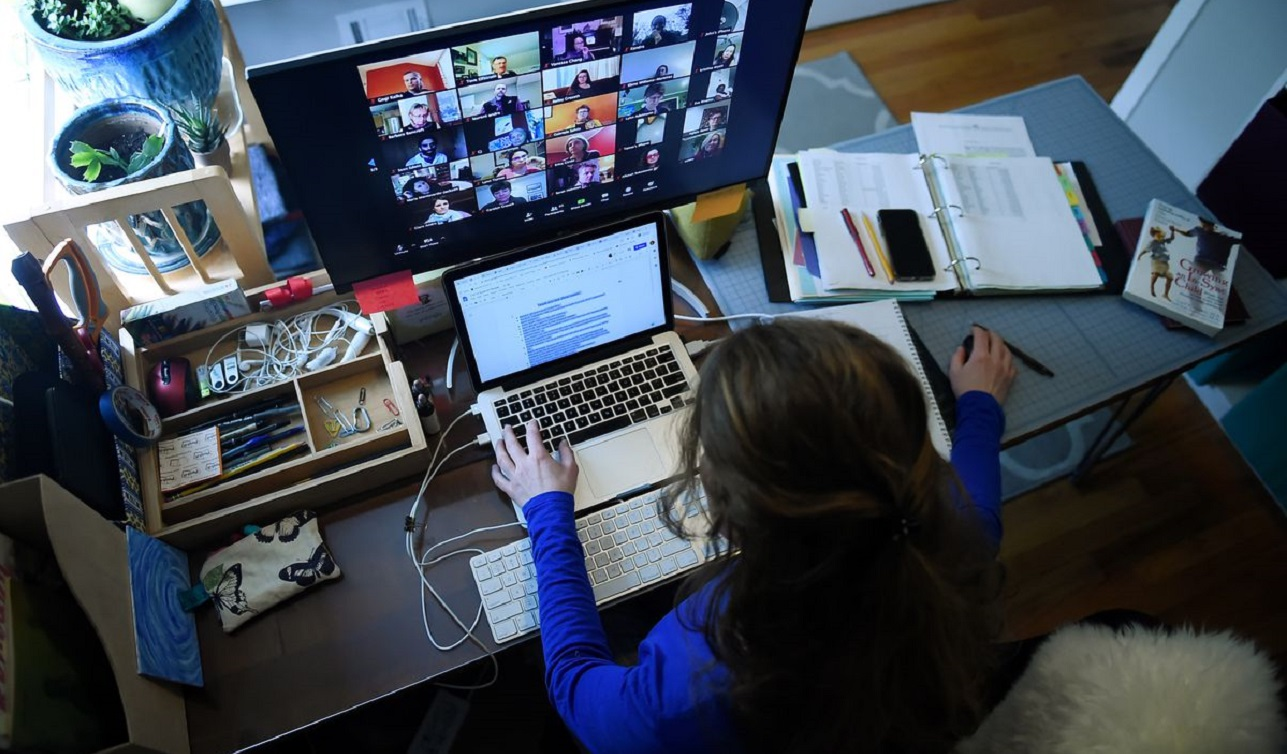 video chat business boom with coronavirus pandemic 2020