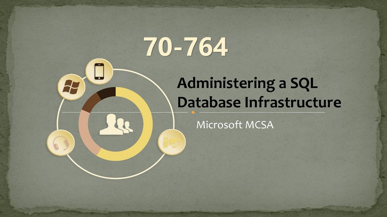 microsoft exam 70 764 database sql