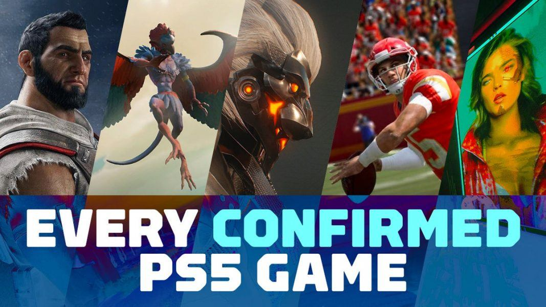 ps5 confirmed games for 2020
