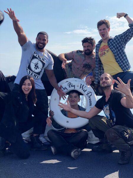 The Boys Season 2 celebrating on boat