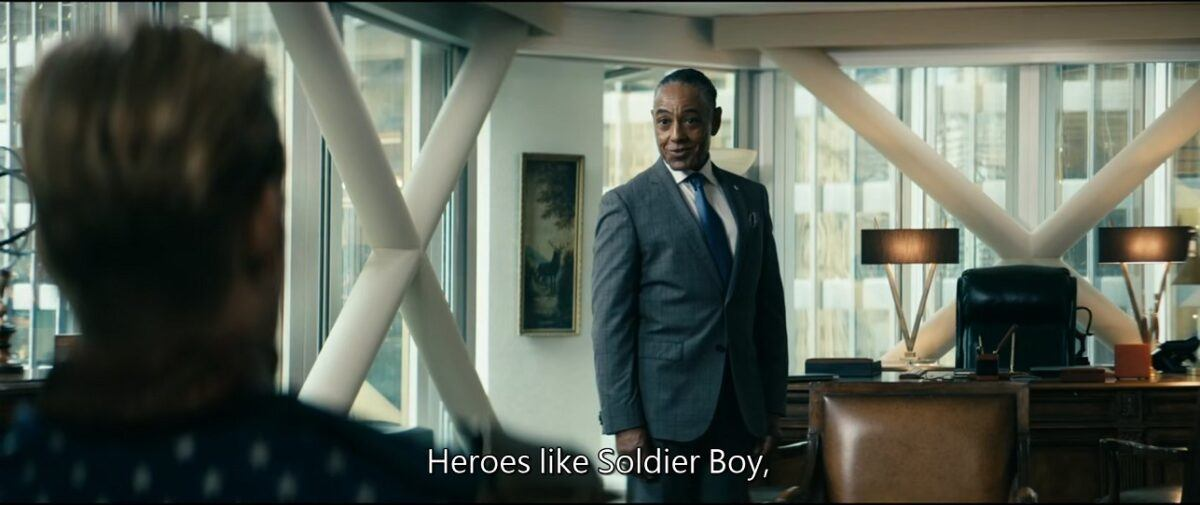 The Boys Soldier Boy with Giancarlo Esposito 2020