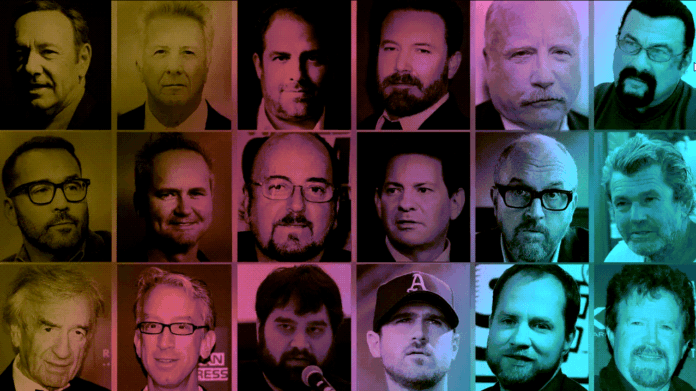 men accused of sexual abuse in hollywood kevin spacey andy dick harvey weinstein