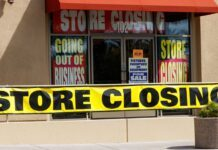 sixty percent stores closing down per yelp 2020