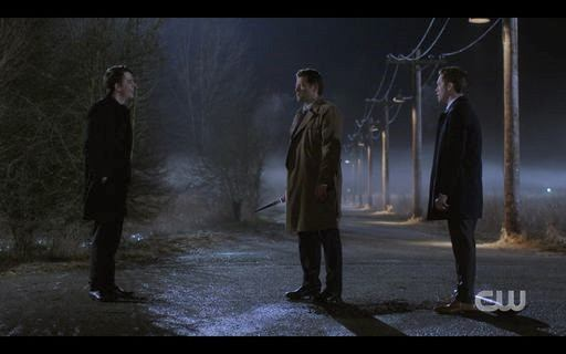 15.15 Crossroads demon Zack shows up with Jack and Castiel SPN