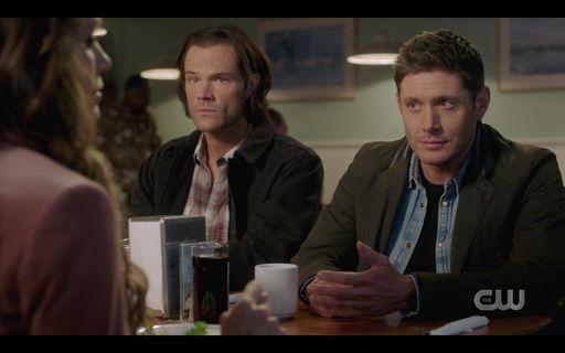 15.15 Sam Dean Winchester with Amara at diner