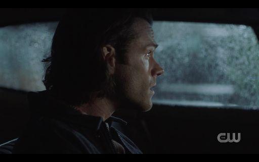 15.15 Sam watching Dean go into diner for Amara SPN