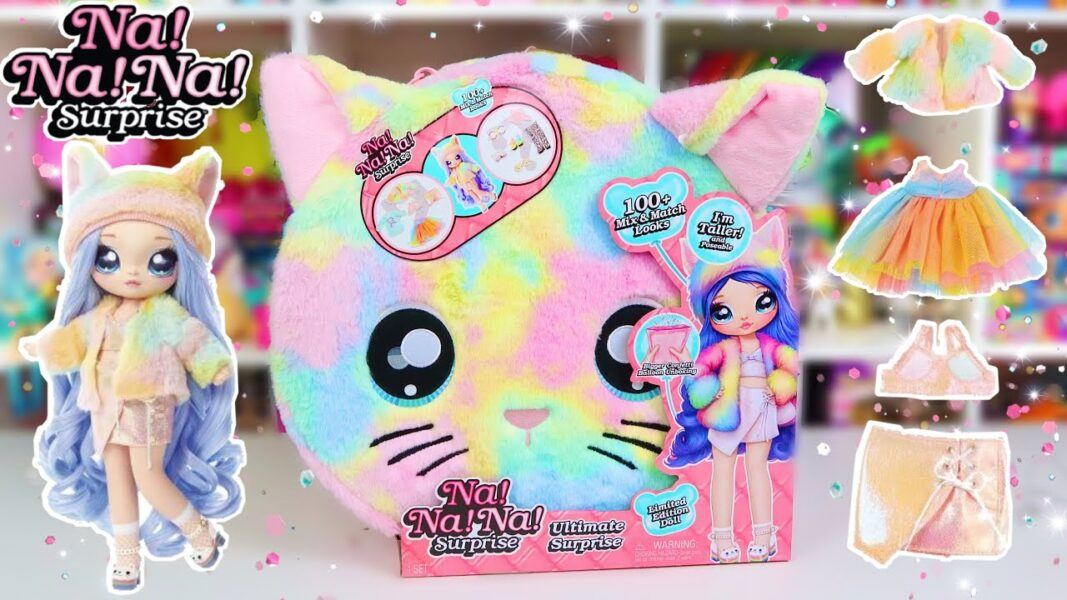 2020 hottest girls dolls toys holiday gift ideas na na na surprise rainbow kitty