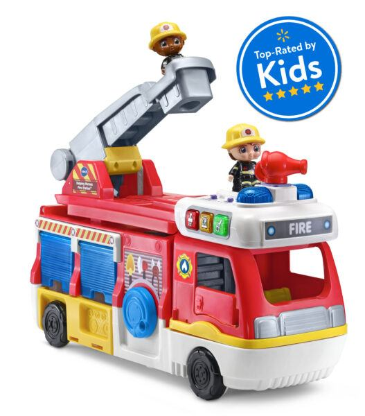 2020 hottest kids toys holiday VTech Helping Heroes Fire Station two firemen