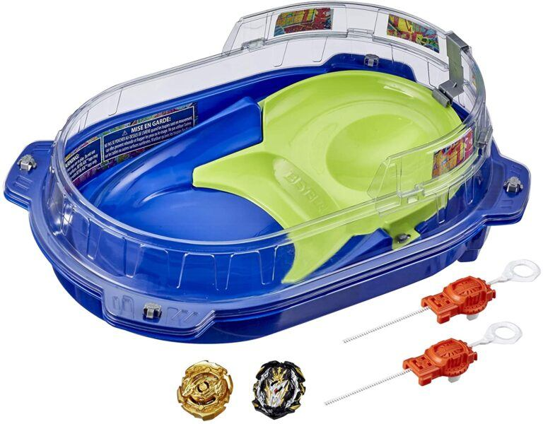 Beyblade Burst Rise Hypersphere Vortex Climb Battle Set close up 2020 hottest toys gifts