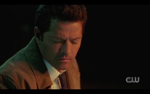 Castiel 15.15 healing pastor saying not a good angel SPN