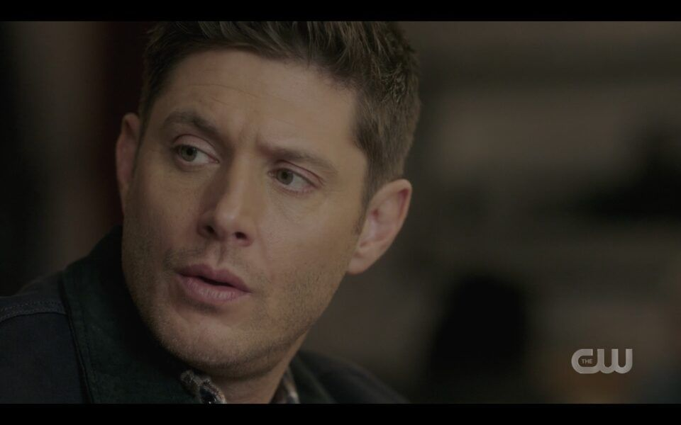 Dean Wincheseter reacts to Billie popping up next to him in diner 1516