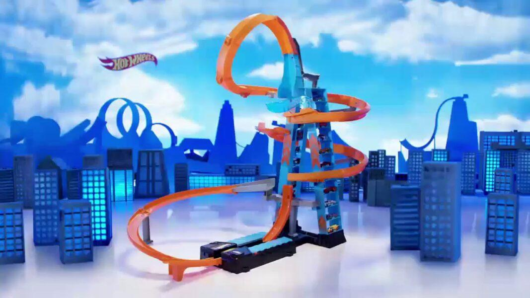 Hot Wheels Sky Crash Tower Track Set 2020 hottest kids toys holiday gifts