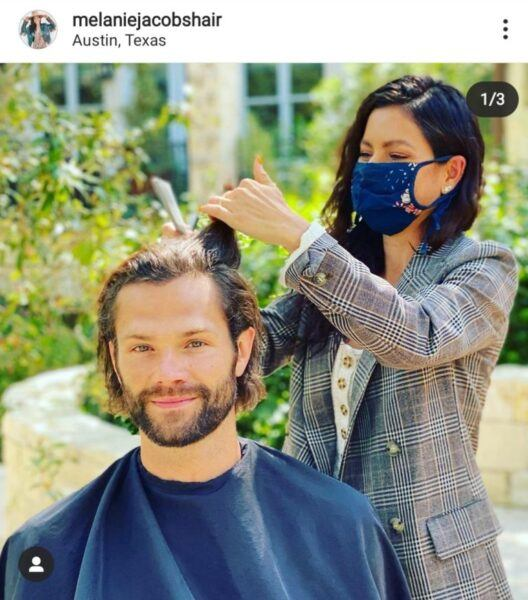 Jared Padalecki haircut panic with SPN Fandom for Walker show 2020