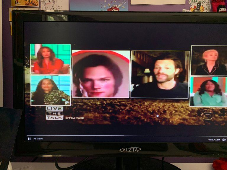 Jared Padalecki on The Talk show 2020