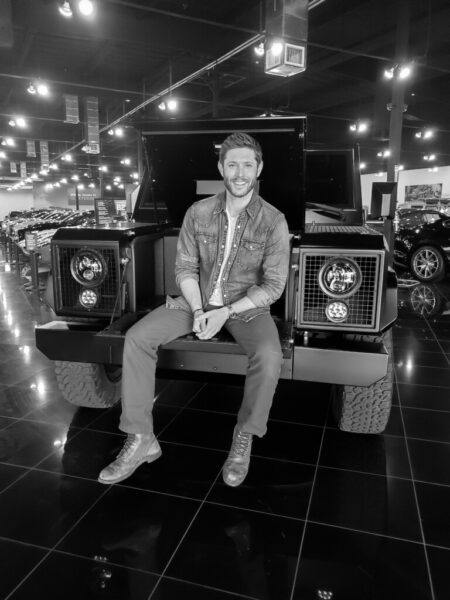 Jensen ackles buys hot bollinger b1 mega truck 2020