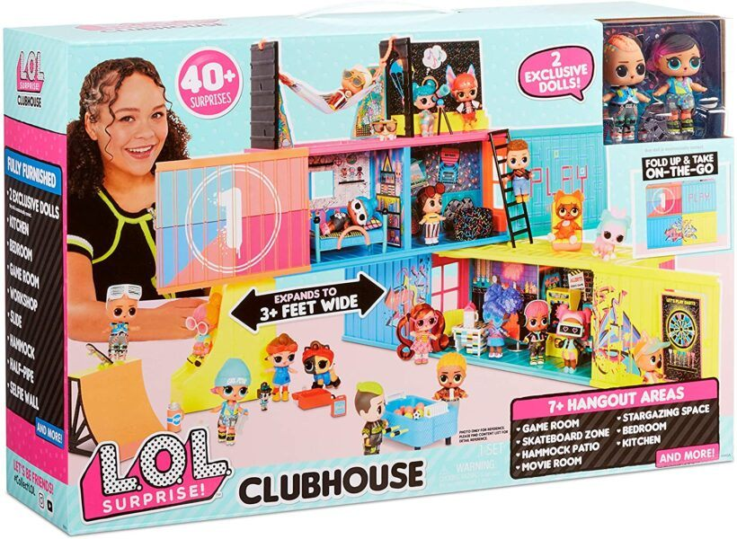 L.O.L. Surprise! Clubhouse Playset box set 2020 hottest girls toys gift ideas