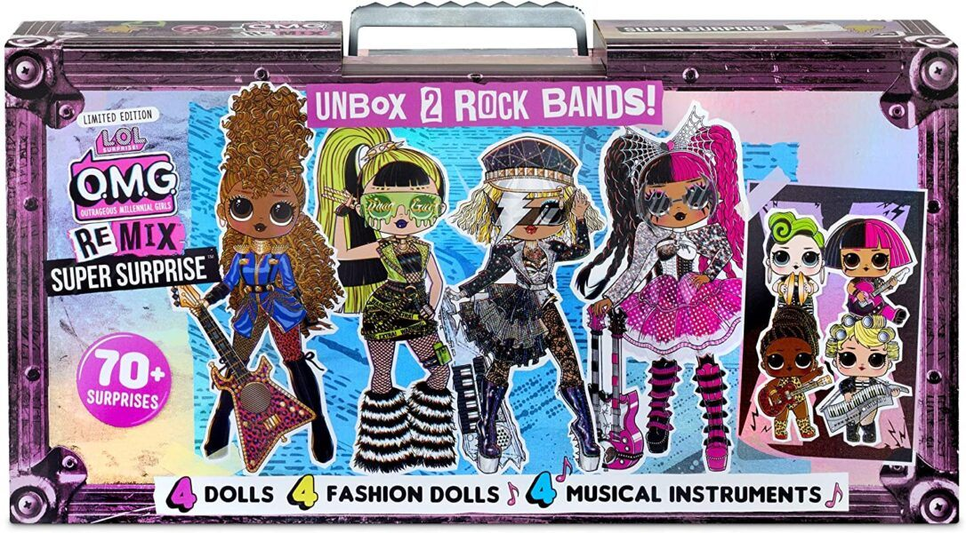 L.O.L. Surprise OMG REMIX Dolls hottest toys for 2020 holiday gifts