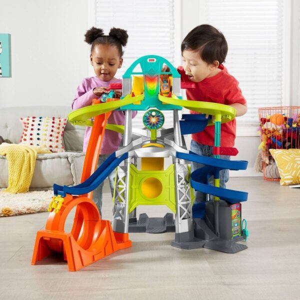 Little People Launch & Loop Raceway 2020 hottest kids toys holiday gifts