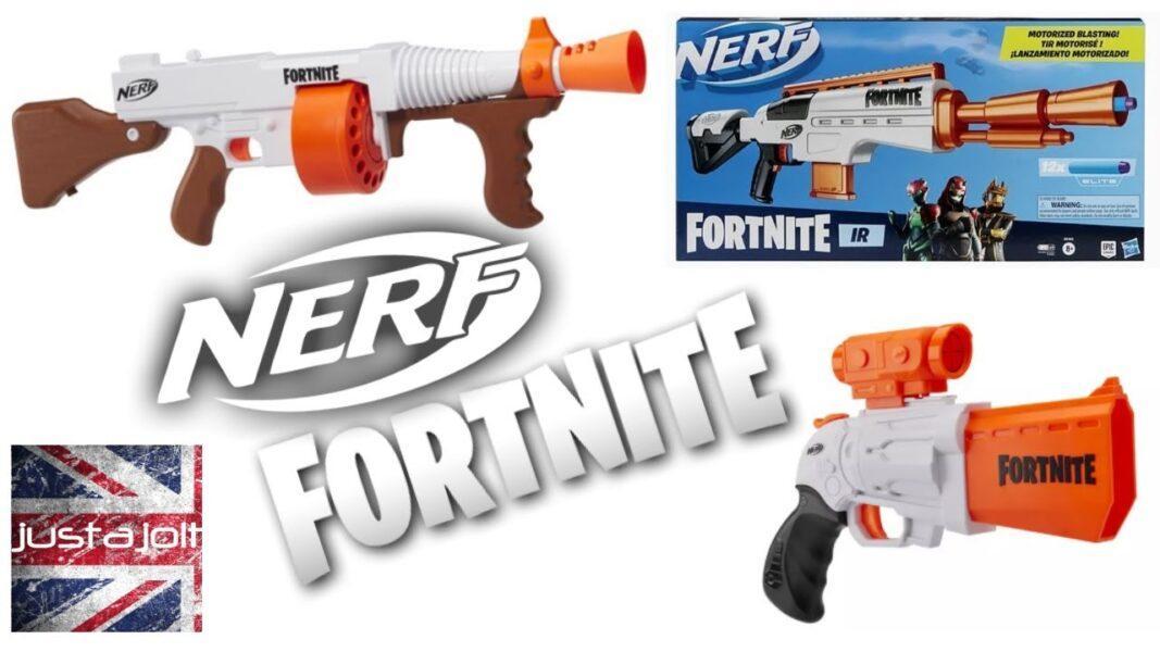 Nerf Fortnite DG Dart Blaster 2020 hottest kids toys holiday gifts