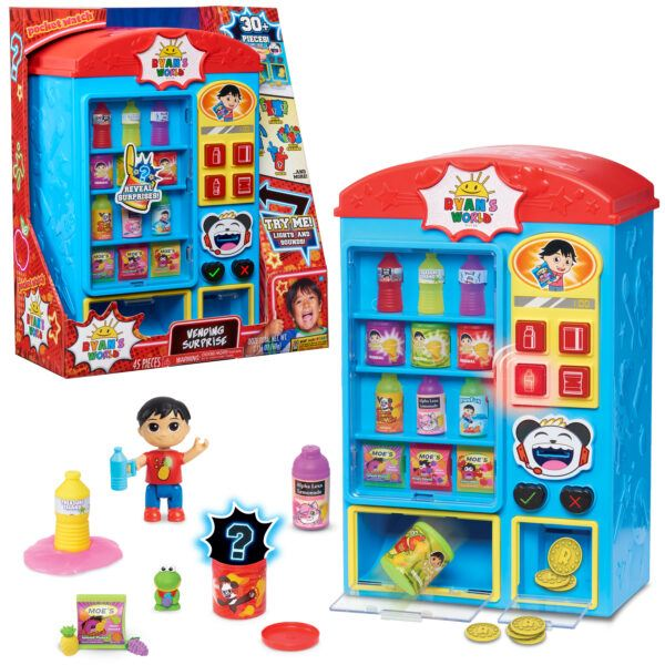 Ryan's World Vending Surprise 2020 hottest kids toy holiday gifts