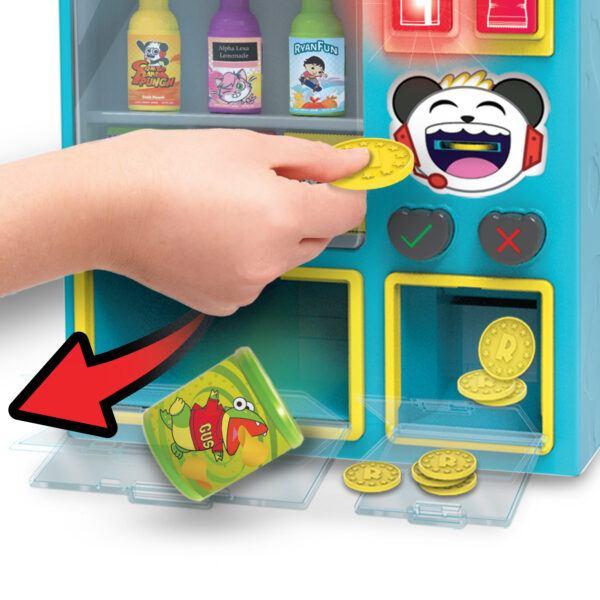 Ryan's World Vending Surprise inserting coin 2020 hottest children toys