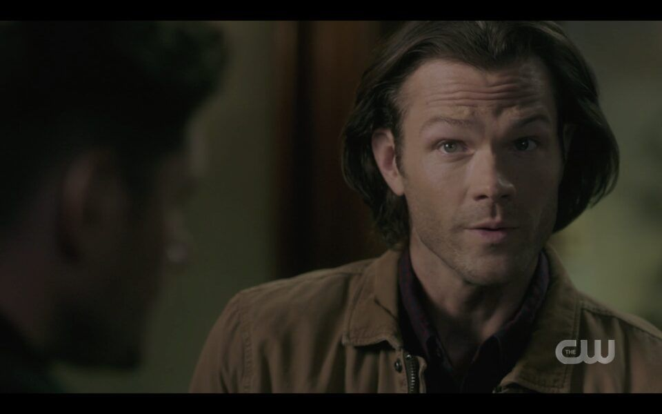 Sam Winchester asking Dean why he never told him his biggest fear Baba Yaga