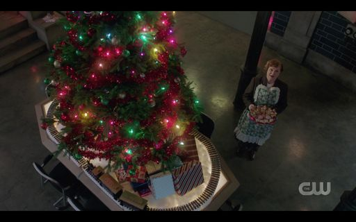 Beautiful christmas holiday tree for Sam Dean Winchester Supernatural