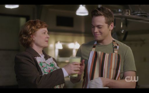 Mrs Butters giving Jack a drink with something special in it SPN