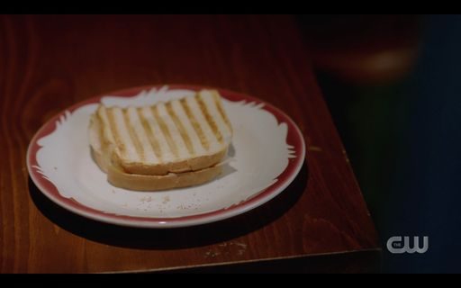 Toasted sandwich Dean Winchester ate from Mrs Butters