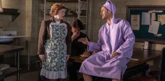 Supernatural Last Holiday Dean in nightshirt with mrs butters jared padalecki 2020 mttg