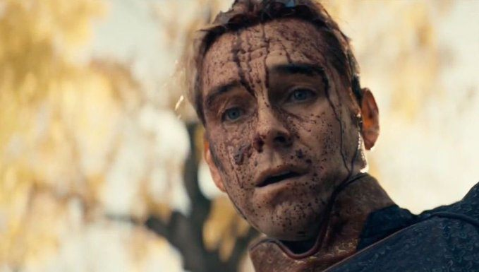 THe Boys 208 Homelander blood covered face antony starr MTTG