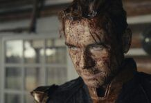 The boys antony starr bloody face 208 homelander