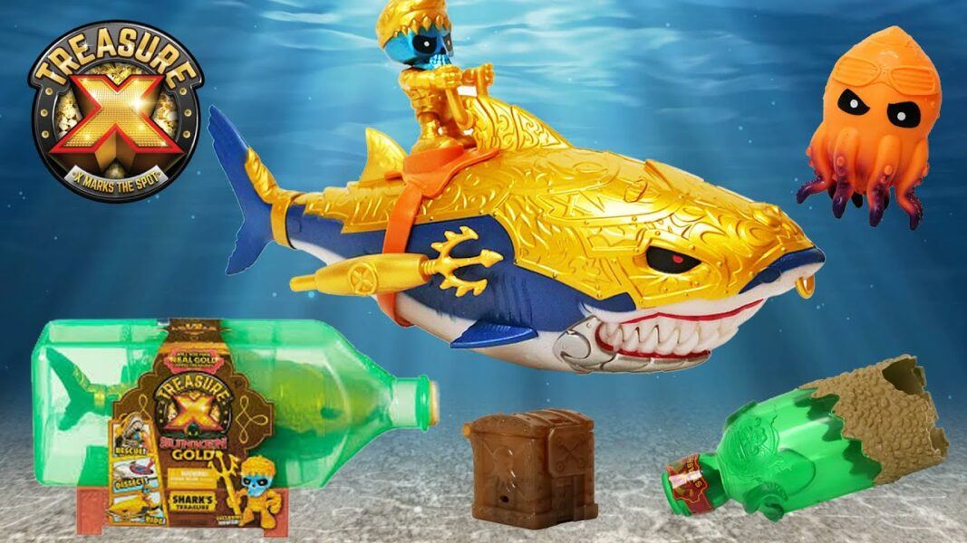 Treasure X Sunken Gold Shark's Treasure 2020 hottest kids toys holiday images