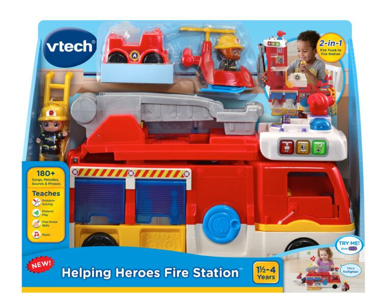 VTech Helping Heroes Fire Station 2020 hottest kids toys holiday gifts