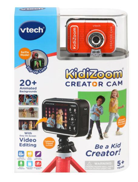 VTech KidiZoom Creator Cam HD Video Kids' Digital Camera 2020 hottest kids tech toys