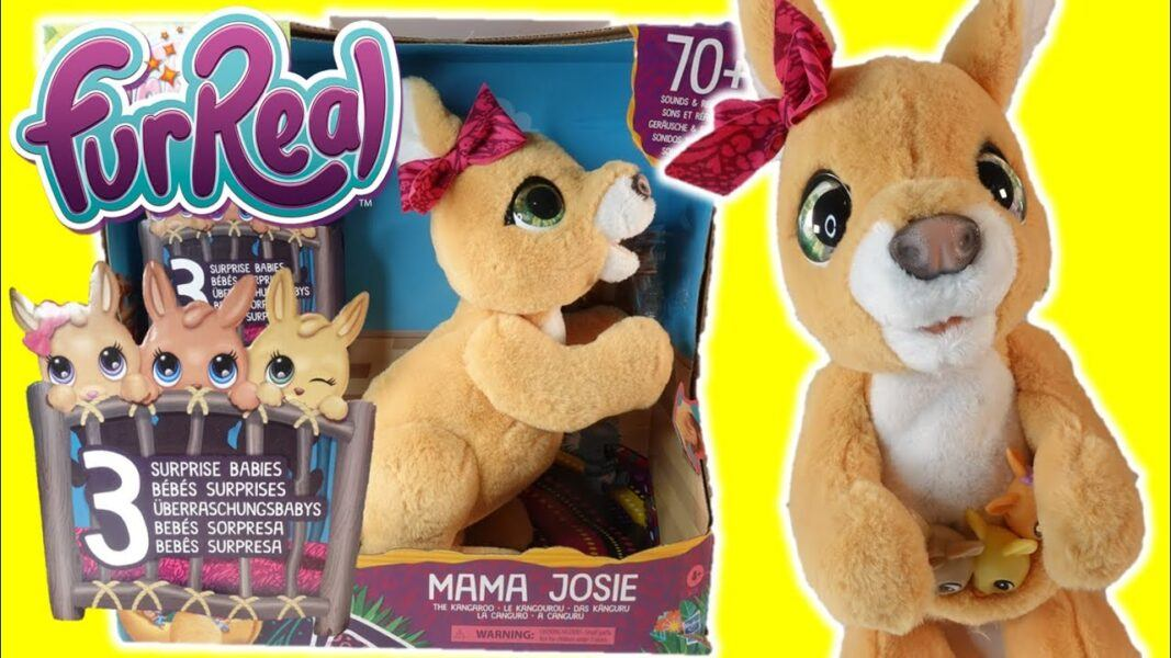 furReal Mama Josie The Kangaroo Interactive Pet 2020 hottest kids toys holiday