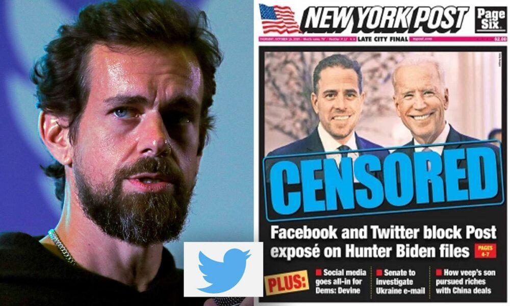 jack dorsey twitter admit blocking biden new york post story error