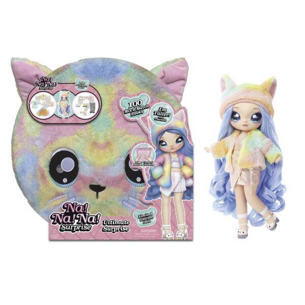 na na na surprise ultimate surprise rainbow kitty 2020 hottest kids gifts girls