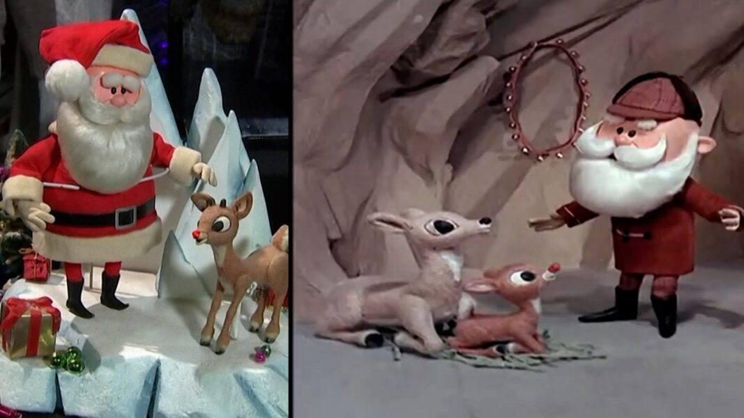 original santa rudolph red nosed reindeer on auction block 2020