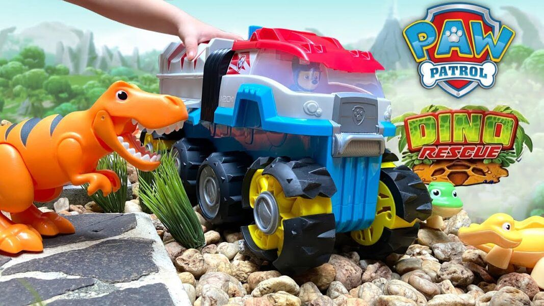 paw patrol dino patroller motorized team vehicle 2020 hottest toys kids