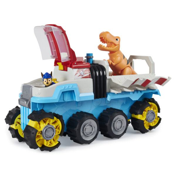 paw patrol dino rescue motorized truck in action hot toys 2020