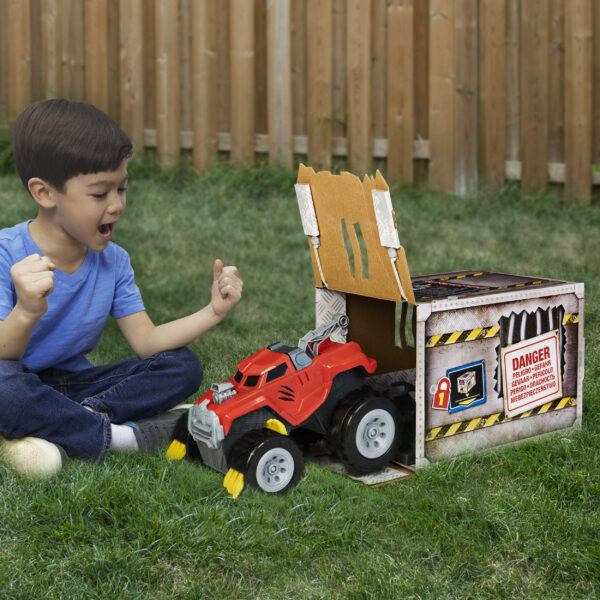 the animal interactive unboxing toy truck 2020 hottest tech kids toys