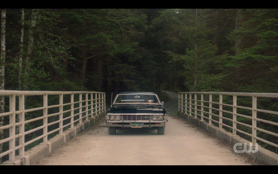 Baby coming onto bridget for Supernatural Carry On finale
