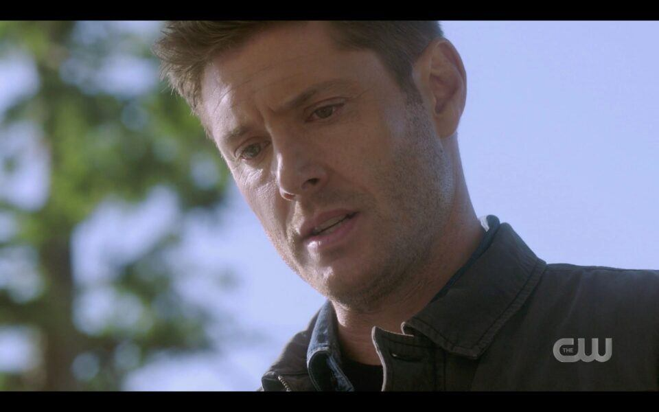 Dean Winchester lets Chuck know hes now human 1519 SPN